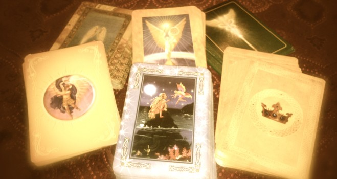 Using Angel Cards to Receive